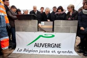 Auvergne la région juste et grande